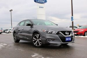2018 Nissan Maxima SVGUN METALLIC...WHAT A COOL NAME...AND I HAV