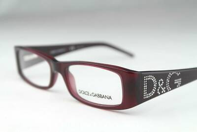 D&G by Dolce & Gabbana 1103-B 1103 Eyeglasses Eggplant 615 Authentic 50mm By Dolce & Gabbana Eyeglasses