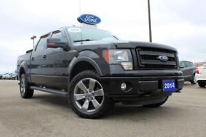 2014 Ford F-150 FX4 FX4! BLACK ON BLACK!! V8!! TONNEAU COVER!! E