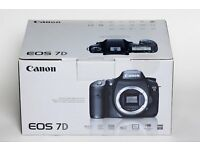 Canon EOS 7D MK I Boxed in excellent condition