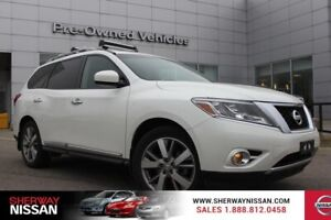 2016 Nissan Pathfinder platinum.One owner accident free trade. N