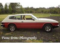 1976 reliant scimitar. For sale or swap. £3000, no offers. 3 litre V6 ford essex engine