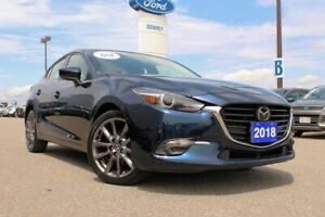 2018 Mazda Mazda3 Sport GT L@@K AT THE COLOR! ALMOST NEW AND IN