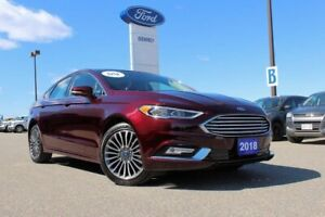 2018 Ford Fusion Titanium NAVIGATION AND EVERYTHING ELSE TITANIU
