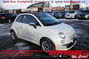 2013 FIAT 500 LoungeSingle Owner Trade,  Non Smoker!