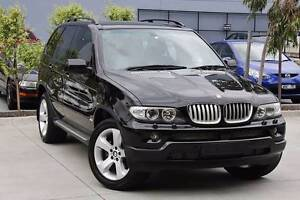2004 BMW X5 Wagon 4.4  E53  Black on Black Rowville Knox Area Preview