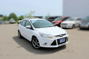 2014 Ford Focus SE2.0L SEDAN LOW KMS  SPORT SEATS
