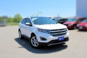 2017 Ford Edge SEL-AWD 3.5L ELATHER V6 PANO ROOF