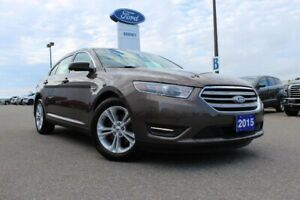 2015 Ford Taurus SELFWD, A/C WITH DUAL ZONE ELECTRONIC!! LOW KMS