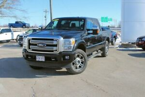 2015 Ford Super Duty F-250 SRW PlatinumLOADED!!  LOW KMS!! DIESE