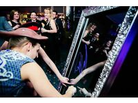 Magic Mirror photo booth 3 hour hire from just £295