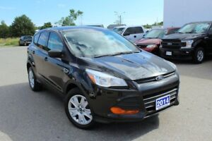 2014 Ford Escape S2.5L FRONT WHEEL DRIVE, HARD TO FIND! SAVE BIG