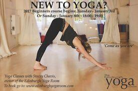 Beginners Yoga at the Yoga Room Edinburgh
