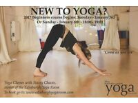 Beginners Yoga at the Yoga Room Edinburgh