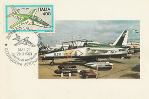 Italy postcard maximum Aviation SIAI 211 airplane - <span itemprop='availableAtOrFrom'>Bystra Slaska, Polska</span> - Italy postcard maximum Aviation SIAI 211 airplane - Bystra Slaska, Polska