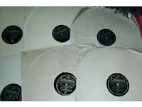 SELECTION OF 6 COLUMBIA SPEED 78 LPS