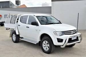 2011 MITSUBISHI TRITON GL-R DUAL CAB 4X4 AUTO Swan Hill Swan Hill Area Preview