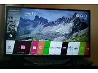 LG 49 inch 4K Ultra HD HDR Smart led tv 49UH620V with built-in WIFI, quad core processor