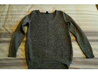 H&M charcoal jumper