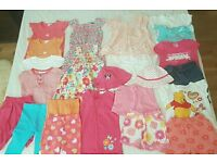 Girl's summer clothes: 12-24 months