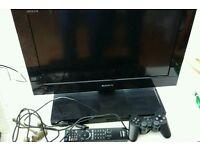 Sony Bravia TV/Playstation 2