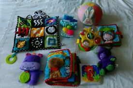 Bundle of beautiful baby toys