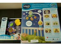Job lot of 2 vetch new baby toys in box