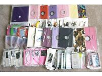 Wholesale Job Lot Mobile Phone & Tablet Cases / Covers Accessories (50x items)