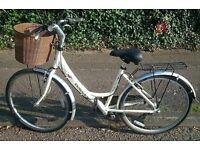 """Women's dawes red feather hybrid bike 17"""""""