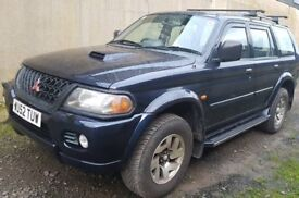 Perfect winter and towing shogun jeep with full service history