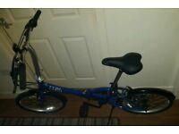 Apollo Tuck Fold Down Bike....IMMACULATE CONDITION...