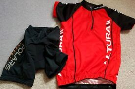 Altura Top and Polaris Cycle Shorts Aged 5 to 6