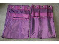 Purple Curtains (2 pairs)