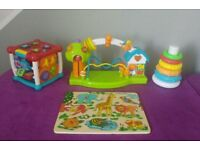 4x Learning Activity Toys