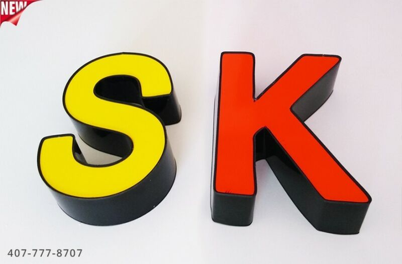 """New Channel Letters 24"""" - WATERPROOF AND DUST PROOF - Custom made"""