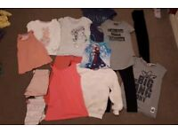 Small bundle of girls clothes 6-7