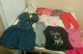 Baby girl clothes bundle 70 items