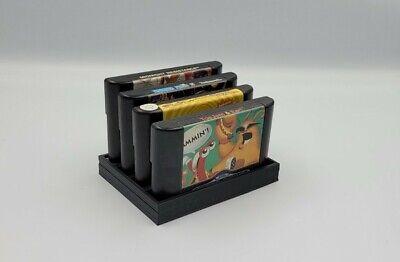 Sega MegaDrive Genisis Game Cart Display Holder Mount Mega Drive