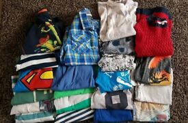 Job lot on boys tops age 7-8