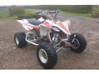 Yamaha 450 yfz raptor quad bike