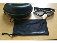 For sale is an Endura Shark cycling glasses.