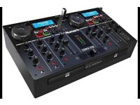 The Numark CD MIX USB DJ Decks Console
