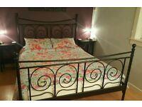 Ikea Noresund Kingsize Bed Frame