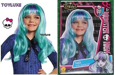 Monster High TWYLA 13 WISHES WIG Fashion Dress Up CHILD Halloween Costume Hair !