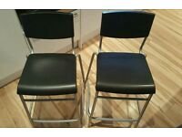 Ikea barstool with backrest x 2