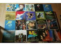 34X VINYL RECORDS