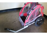 2 seater kids bicycle carrier