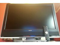 """32"""" Toshiba REGZA HD TV built in freeview"""