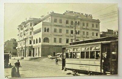 Mediterranean Palace Hotel - Thessaloniki Greece - RPPC postcard circa 1930s
