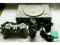 SONY PS 1 GAMES CONSOLE